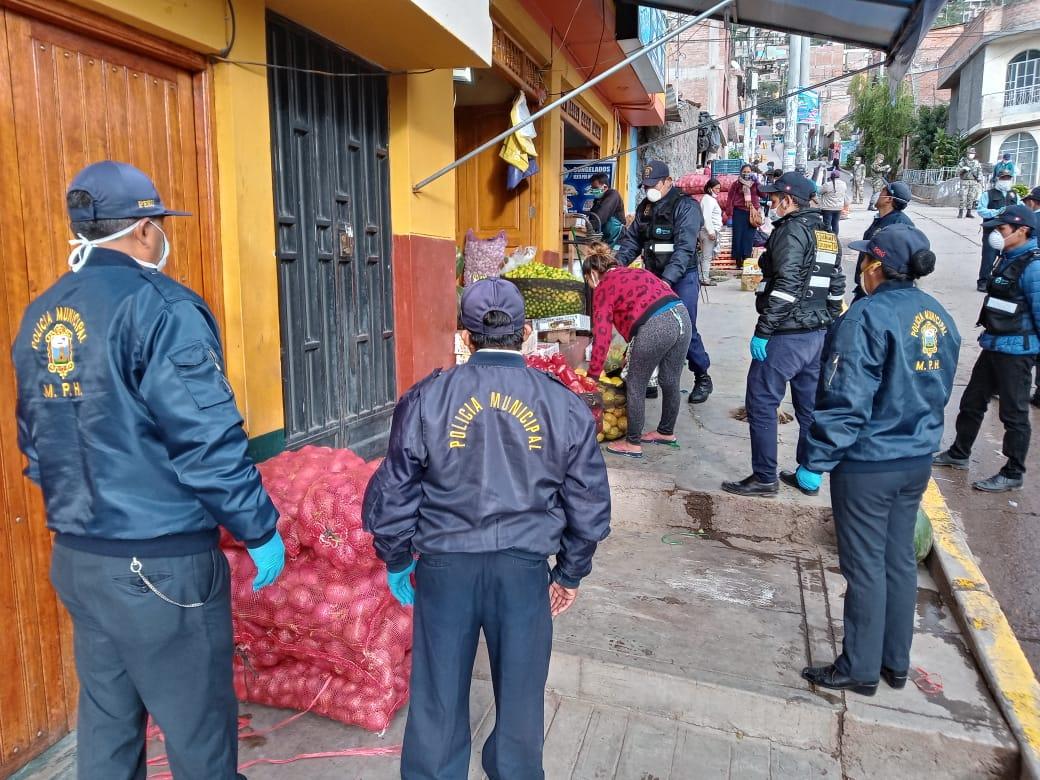 Operativo contra el comercio ambulatorio en Nery García