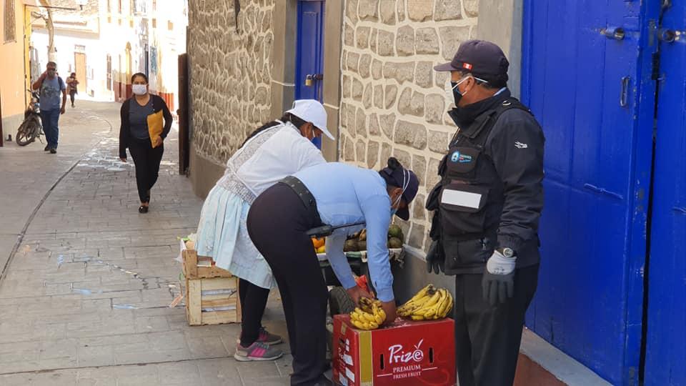 Se realiza operativo articulado contra comercio informal