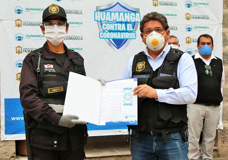 Miembros de Serenazgo de Huamanga son incorporados al régimen 728