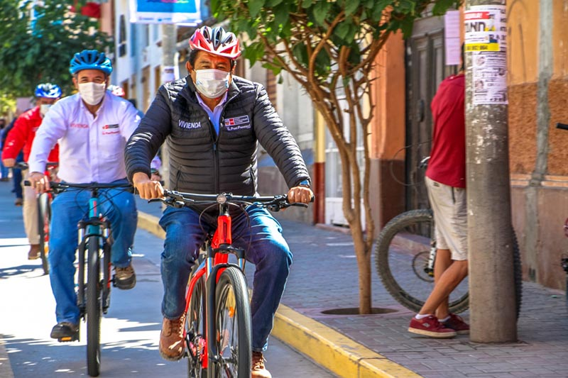Inauguran ciclovías en Huamanga