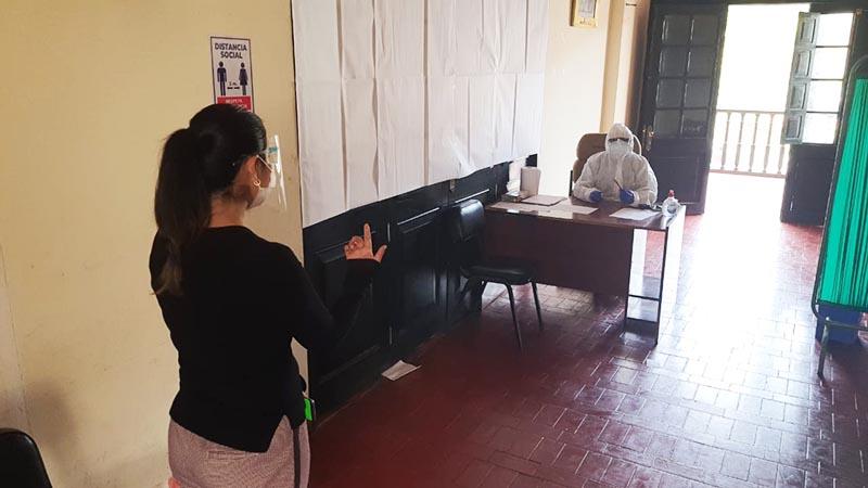 Comuna huamanguina apertura consultorio médico