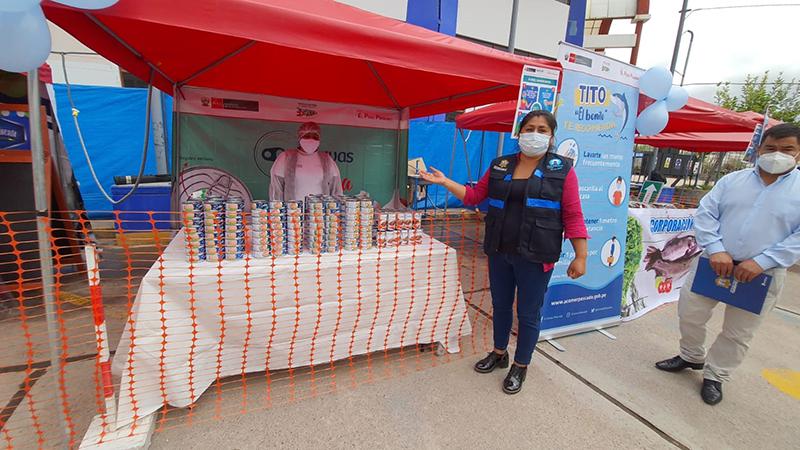 Se inauguró el mercado temporal del Terrapuerto