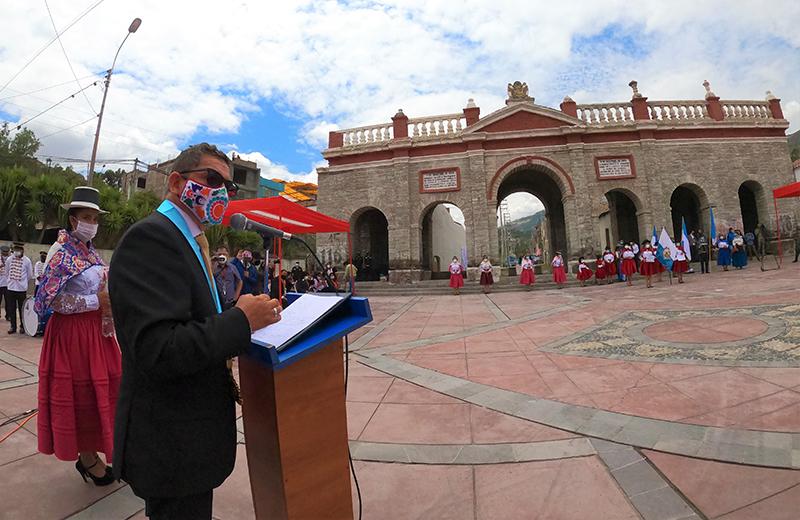 Huamanga celebró 200 años de independencia