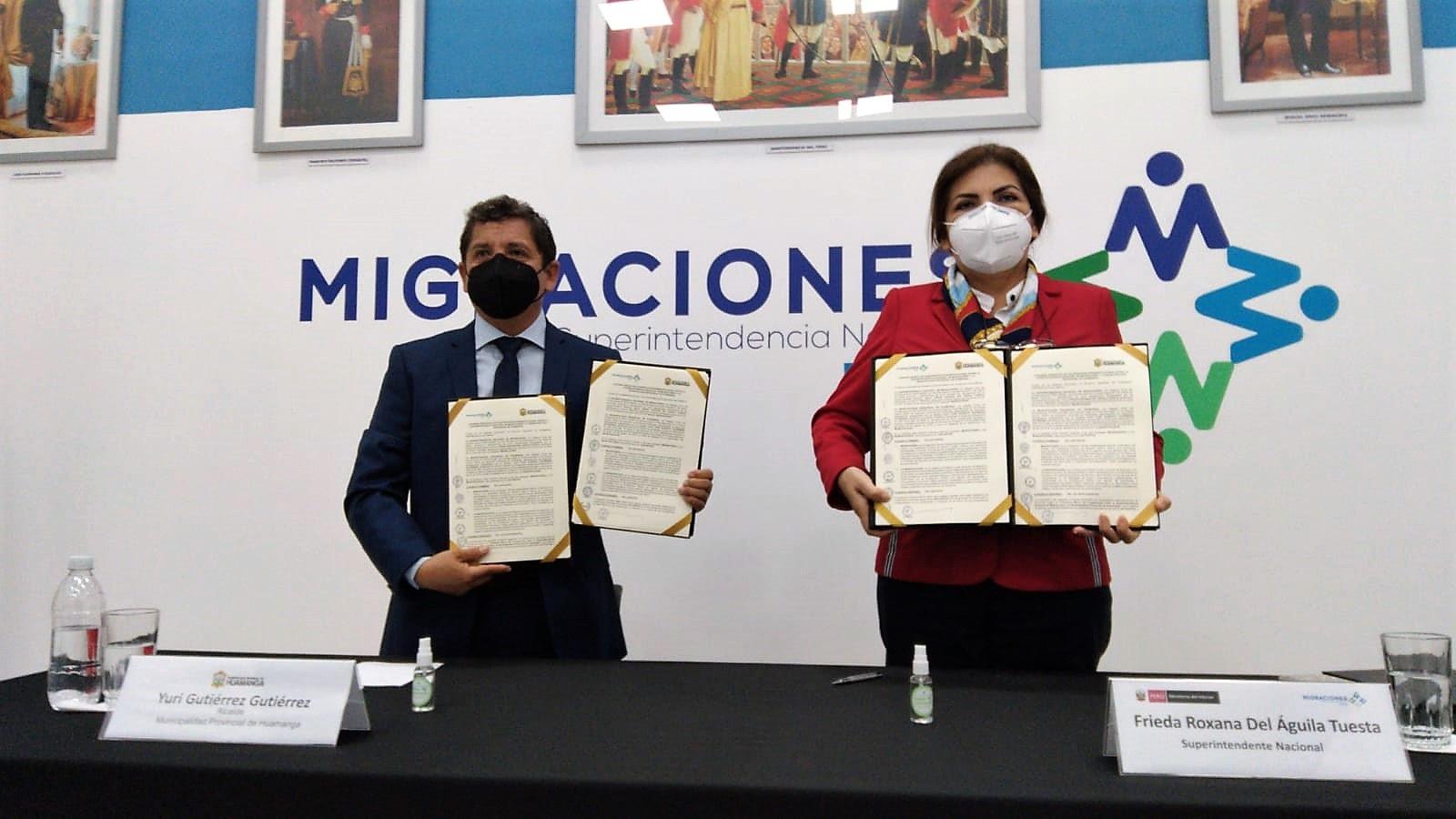 Huamanga contará con agencia de Migraciones