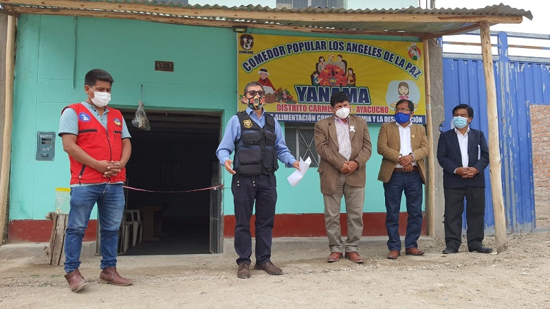 Municipio de Huamanga entrega ayuda humanitaria a damnificados por lluvias