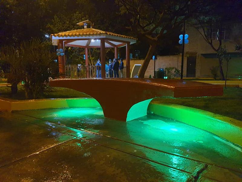 Se inauguró el Parque Ecológico en José Ortiz