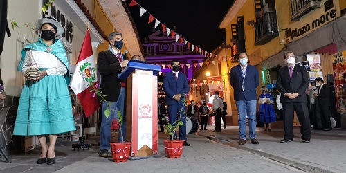 30 millones de dólares para recuperación y mejoramiento del Centro Histórico de Huamanga