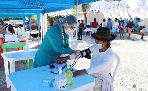 Municipalidad de Huamanga realiza Campaña Integral de Salud Mental en Simpapata