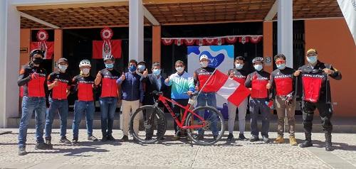 Delegación ayacuchana participará en Pedaleando por el Bicentenario del Perú