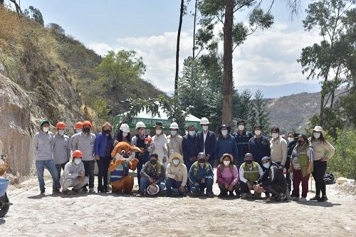 Se dio inicio a la construcción del Centro de Acogida Temporal de canes
